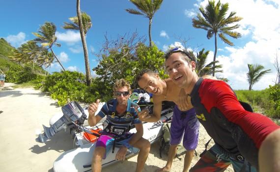 Trip Kitesurf Gwada Team